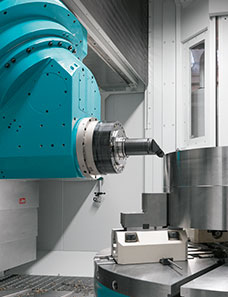Centros de mecanizado para piezas pesadas o complejas 4